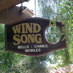Wind Song San Diego Sign