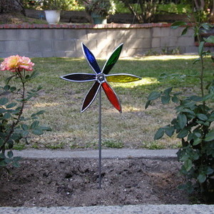 The Glass Pinwheel