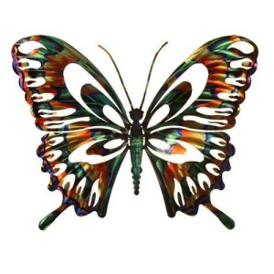 Butterfly Refraxions Wall Art