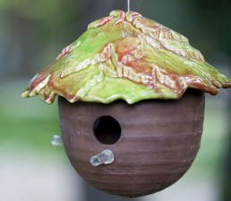 Leaf Top Gourd Bird House