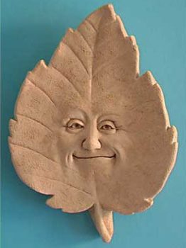 Linden B. Leaf Garden Plaque