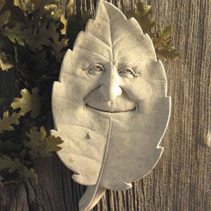 Shady Character Garden Plaque
