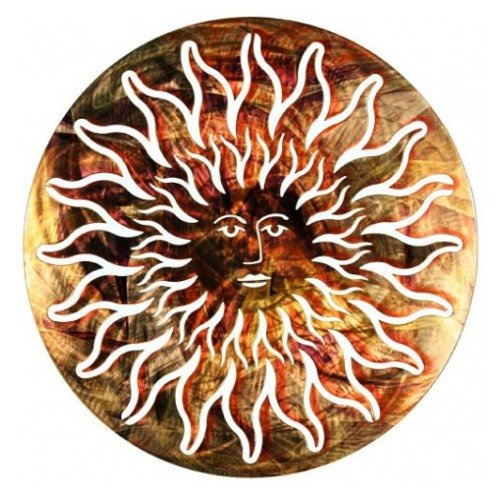 Sun Face Refraxion Wall Hanging