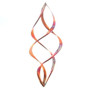 Infinity Copper Wind Sculpture