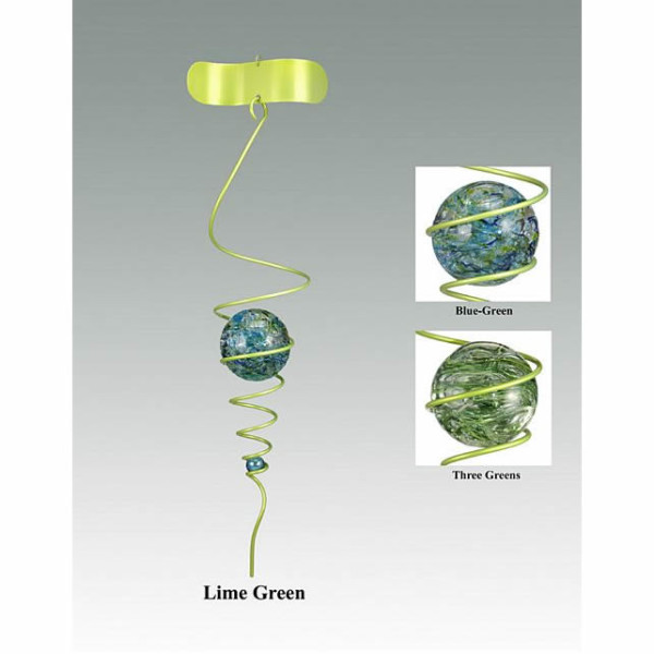 Levitating Marble Lime Green