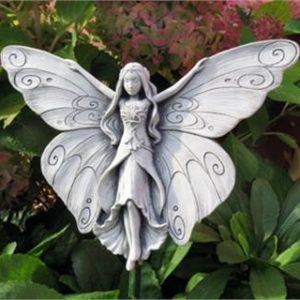 Madame Butterfly Garden Plaque