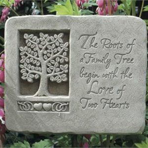 Roots of Love Garden Plaque
